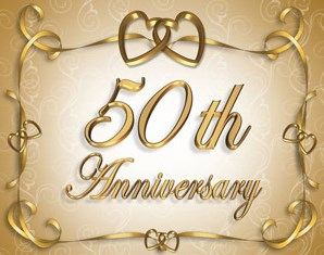 gold wedding anniversary gift ideas from